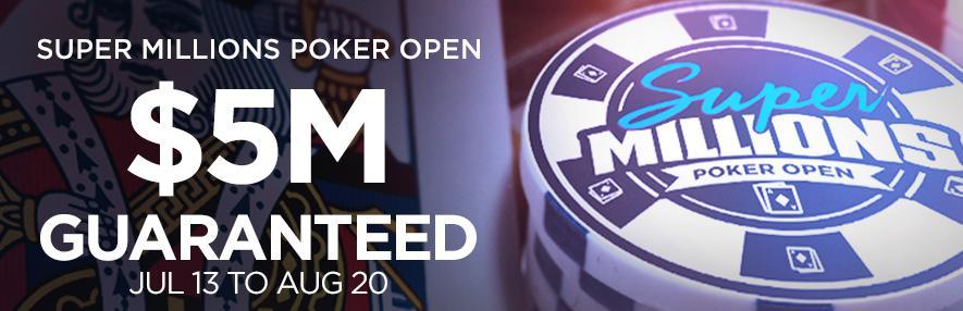 $5m Open Poker tournament at Bodog88.