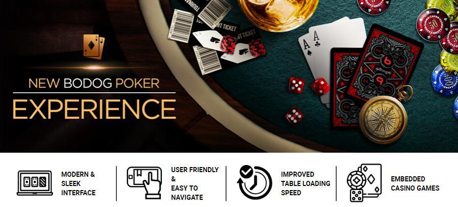 Bodog's upgraded poker platform for Australia.